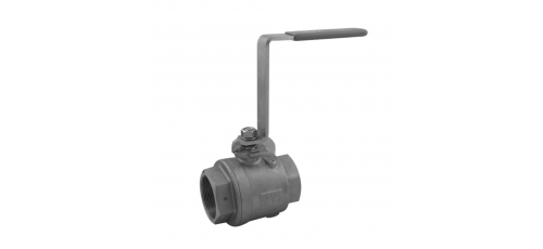 Stainless steel ball valves threaded ends complex valve
