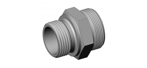 Stainless steel hecoNNECT couplings threaded parts thread screw-in part