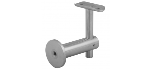 Stainless steel railing construction handrail brackets and supports for wall