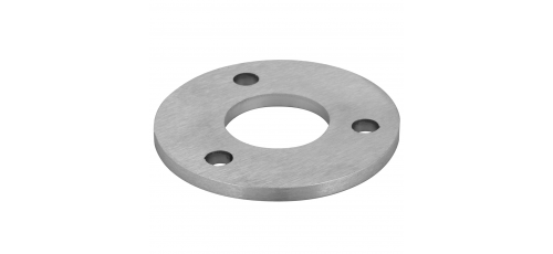 Stainless steel railing construction anchors and flanges Centre/ 3 x outer