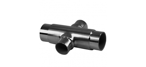 Stainless steel railing construction plug fittings X & reduced