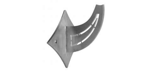Stainless steel railing construction handrail brackets and supports square