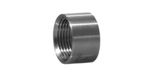 Stainless steel fittings PN 10 (ECO-Line) ...with NPT-thread sockets half