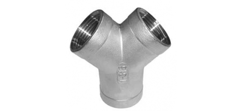 Stainless steel fittings PN 10 (ECO-Line) Y-tees