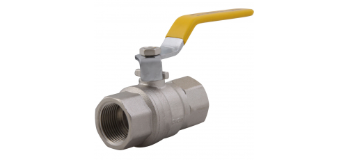 Stainless steel ball valves threaded ends approval for gases