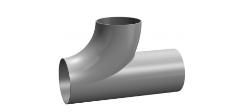 Stainless steel fittings T-/ Y-bends T-bends