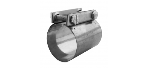 Stainless steel pipe clamps wide band clamps