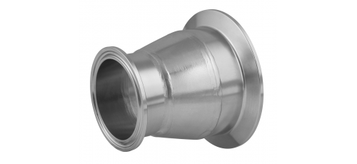 Stainless steel clamp connections pipe fittings reducers series A