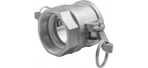 Stainless steel quick couplings Camlock type D