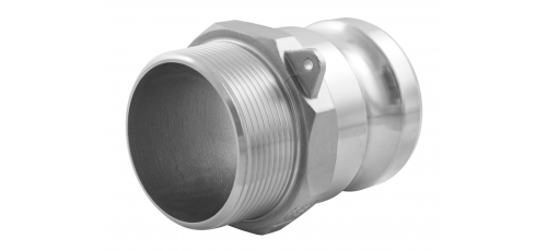 Stainless steel quick couplings Camlock type F
