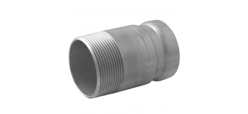 Stainless steel Victaulic Standard Nutsystem adapters groove/male thread