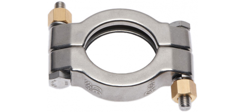 Stainless steel clamp connections moretype SSH (high pressure)