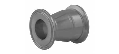 Stainless steel clamp connections pipe fittings reducers series B (ISO)