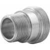 Stainless steel unions conical seat screw-in parts with male thread