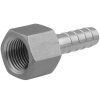 Stainless steel fittings PN 16/ 20 (ISO 4144) nozzles with female thread