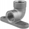 Stainless steel fittings PN 16/ 20 (ISO 4144) elbows / bends elbows with wall plate