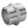 Stainless steel fittings PN 16/ 20 (ISO 4144) nipples hexagon