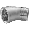 Stainless steel fittings PN 16/ 20 (ISO 4144) elbows / bends elbows 45° F/M
