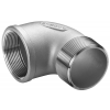 Stainless steel fittings PN 16/ 20 (ISO 4144) elbows / bends elbows 90° F/M