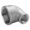 Stainless steel fittings PN 16/ 20 (ISO 4144) elbows / bends red. elbows 90°