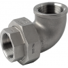 Stainless steel fittings PN 16/ 20 (ISO 4144) elbows / bends >> unions