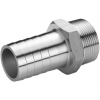 Stainless steel fittings PN 16/ 20 (ISO 4144) nozzles hexagon