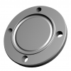 Stainless steel DIN 11864/ DIN 11853 flange connections hygiene DIN 11853-2 grooved blind flanges