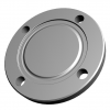 Stainless steel DIN 11864/ DIN 11853 flange connections hygiene DIN 11853-2 collar blind flanges