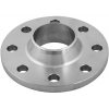 Stainless steel welding neck flanges special materials PN 10 (> DN 150)