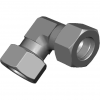 Stainless steel cutting rings elbow couplings