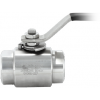 Stainless steel ball valves threaded ends 1-piece & reduced bore MONOBLOCK®