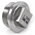 Stainless steel fittings PN 50/ 100 caps/plugs R-237 parallel & square head Product specification