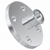 Stainless steel press fittings flanges
