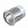 Stainless steel press fittings caps plug with press sleeve