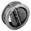 Stainless steel non-return valves swing-check valves double-flap