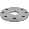Stainless steel blind flanges with central hole with threaded hole