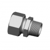Stainless steel cutting rings straight couplings male thread