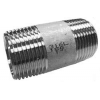 Stainless steel fittings PN 10 (ECO-Line) ...with NPT-thread nipples barrel nipples