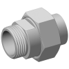 Stainless steel hecoNNECT couplings complete male stud couplings