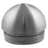 Stainless steel railing construction tube caps