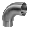 Stainless steel railing construction plug fittings Bends Connecting bend elbow