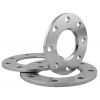 Stainless steel loose plate flanges reduced thickness drilled PN 6