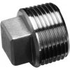 Stainless steel fittings PN 10 (ECO-Line) caps/plugs square plugs