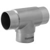 Stainless steel railing construction plug fittings