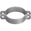 Stainless steel pipe clamps medium-heavy (acc. DIN)