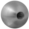 Stainless steel railing construction balls with thread