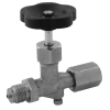 Stainless steel control technology pressure gauge valves