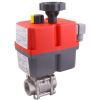 Stainless steel ball valves with actuator electric
