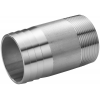 Stainless steel fittings PN 16/ 20 (ISO 4144) nozzles hose nipples