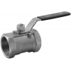 Stainless steel ball valves threaded ends 1-piece & reduced bore ECONOMIC